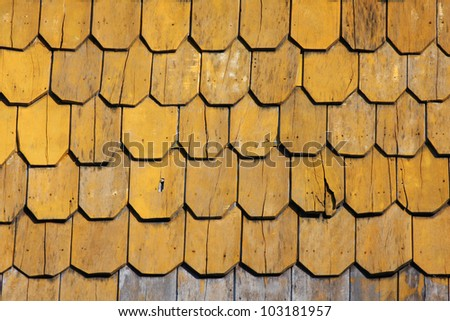 brown wood roof