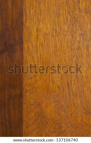 brown wooden background with dark margin on left side or wood grain texture