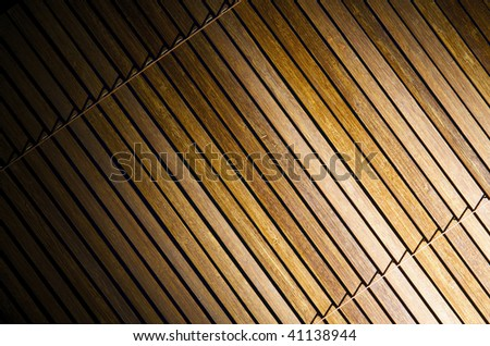 Brown woooden venetian blind background