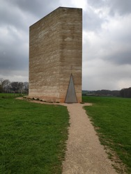 Bruder Klaus concrete chapel in Germany.