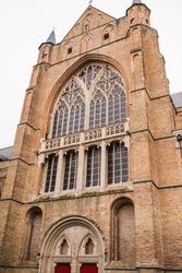 Bruges - Saint Saviour's Cathedral Sint-Salvatorskathedraal , the oldest parish church of Brugge