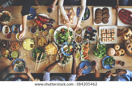 Shutterstock Brunch Choice Crowd Dining Food Options Eating Concept