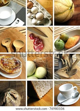 Brunch collage