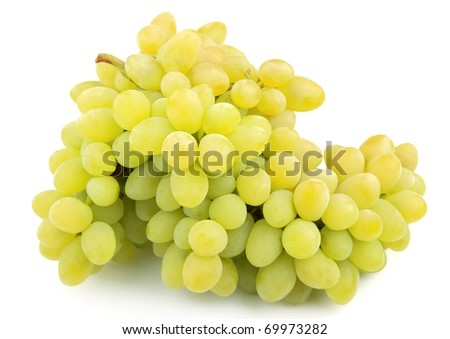 Brunch of fresh grapes close up
