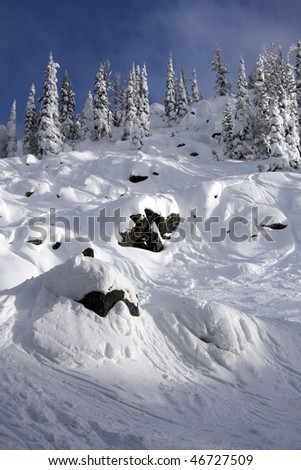 Brundage Mountain, Idaho - stock photo