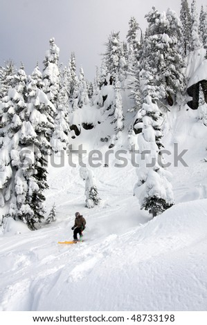 Brundage Mountain Ski Resort, McCall, Idaho