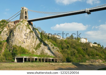 Brunell's Clifton Suspension Bridge & Avon Gorge, Bristol