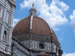 Brunelleschi's dome in Florence, a symbol of the Renaissance and a monument to the ingenuity of man
