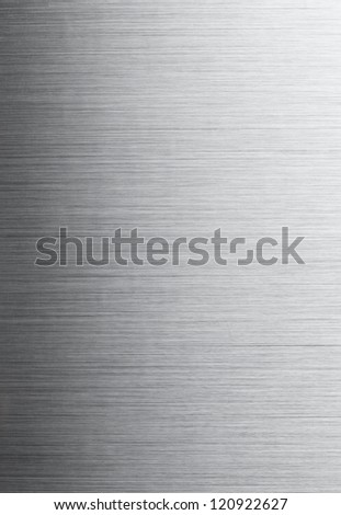 Brushed aluminum background. High resolution.