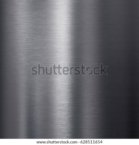 brushed dark aluminum metal texture #628511654