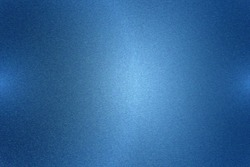Brushed dark blue steel plate, abstract texture background