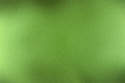 Brushed dark green metallic wall, abstract texture background