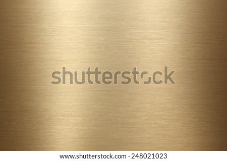 Brushed gold metal background texture #248021023