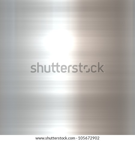 Brushed metal aluminum background or texture