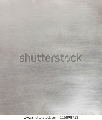 Brushed metal surface background