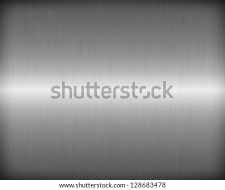 Brushed metal texture for background