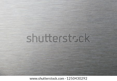 brushed metal texture or plate #1250430292