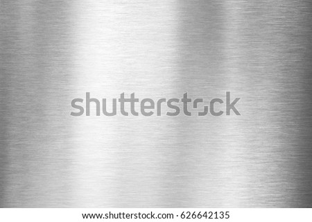 brushed metal texture or plate - Shutterstock ID 626642135