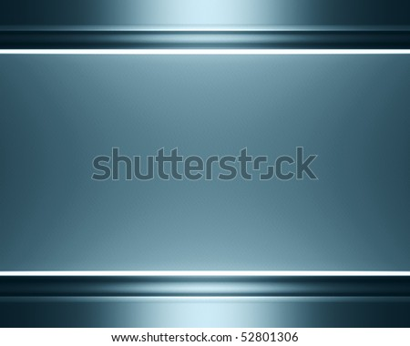 Brushed metallic background - stock photo