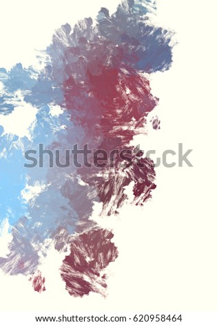 Brushed Painted Abstract Background. Brush stroked painting. #620958464