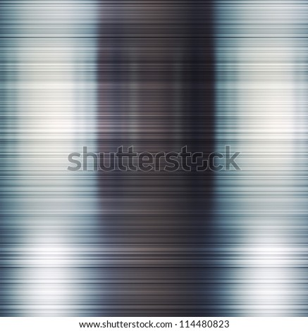 Brushed shiny metal texture. Abstract background.