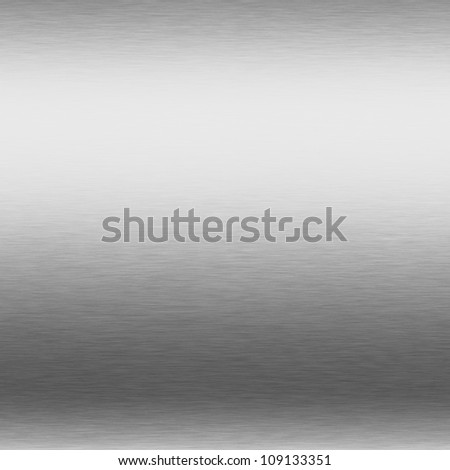 brushed silver metal background chrome texture