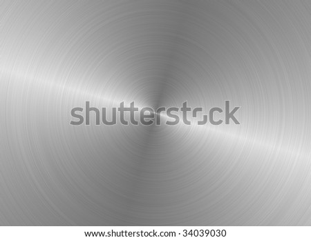 brushed silver metallic steel background