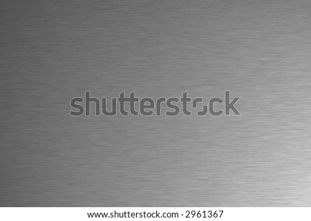 Brushed stainless steal background