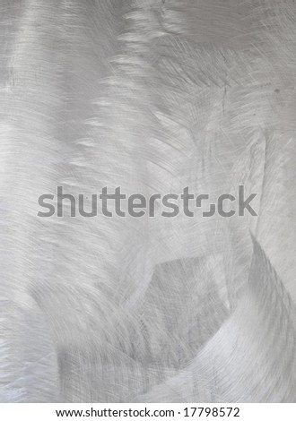 Brushed stainless steel  - abstract background