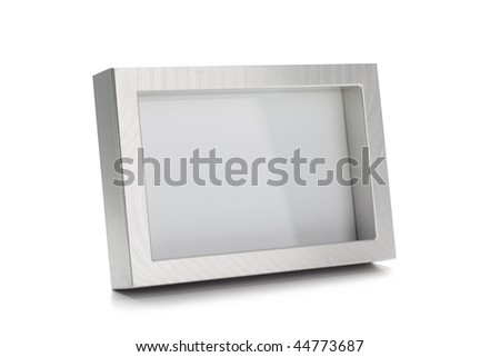 Brushed Stainless Steel Photo frame