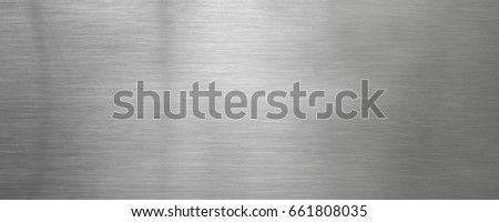Brushed steel plate background texture horizontal #661808035