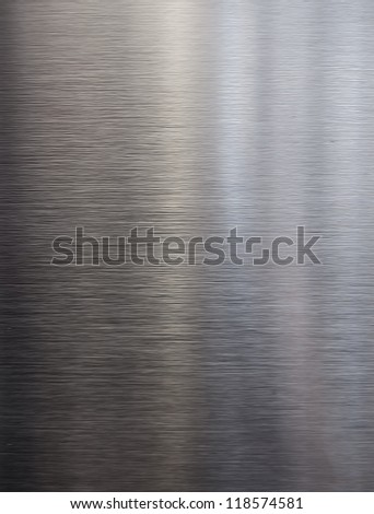 brushed texture metal background