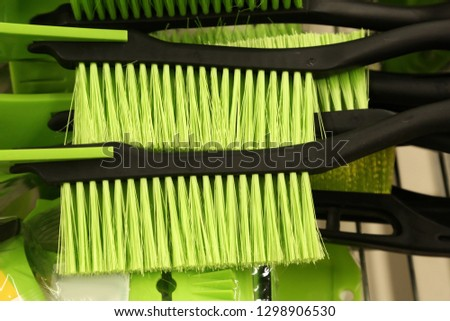 Brushes, cleansing Shop, supermarket, tableware shop, life, goods, household goods, cleanliness, cleaning, mug, kettle, tableware shop, brush, kitchen, clean, kettle, brush, bowl, household goods  #1298906530