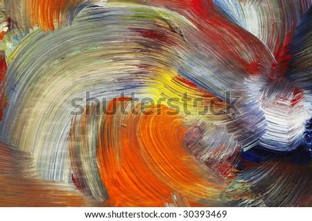 brushstrokes - run colors - craftsmanship
