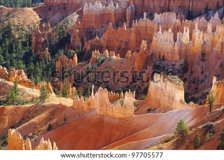 Bryce Canyon impression, Utah