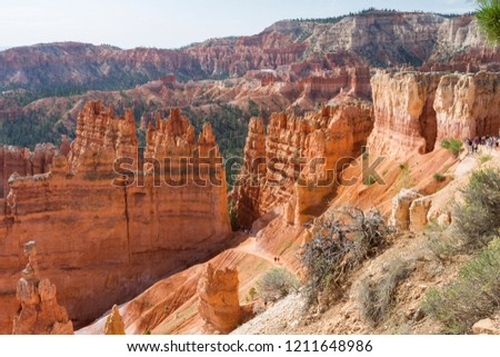 Bryce Canyon National Park in USA.
