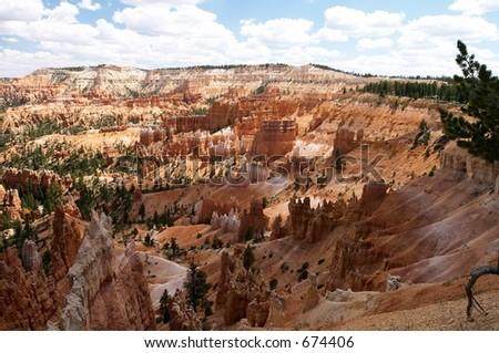 Bryce Canyon, USA - stock photo