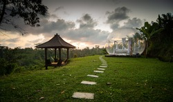 Bubble Hotel at Sunset - Ubud, Bali