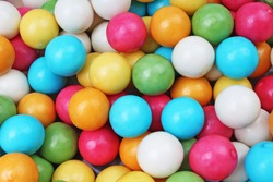 Bubblegum chewing gum texture. Bubblegum backround.