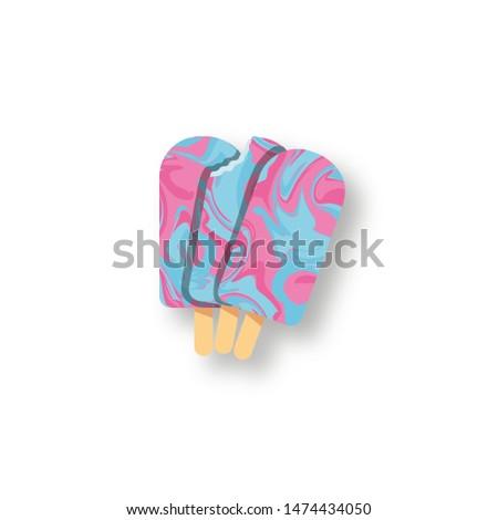 Bubblegum Ice Lollies - Classic