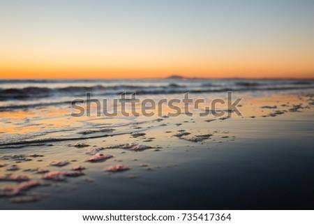 bubbles on the beach #735417364
