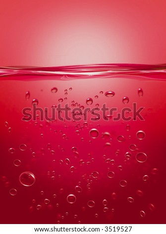 Bubbles Red
