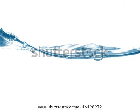 Bubbles, water