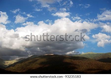 Bucegi mountains in the Carpathians, Romania