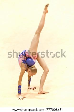 Anastasiya Mulmina Stock-photo-bucharest-romania-april-anastasiya-mulmina-performs-during-the-irina-deleanu-orange-trophy-on-77700865