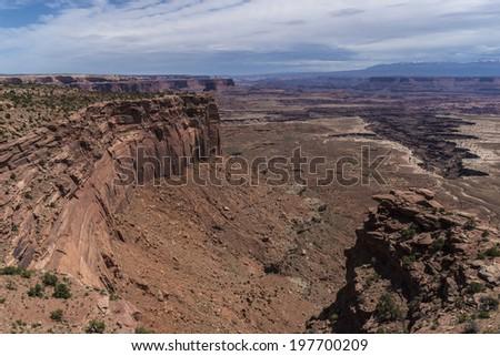 Buck Canyon overlook Canyonlands National Park Utah #197700209