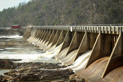 Buck Dam on the New River in Virginia
