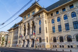 Buckarest City Hall in Romania