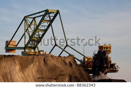 Bucket Excavator for Coal