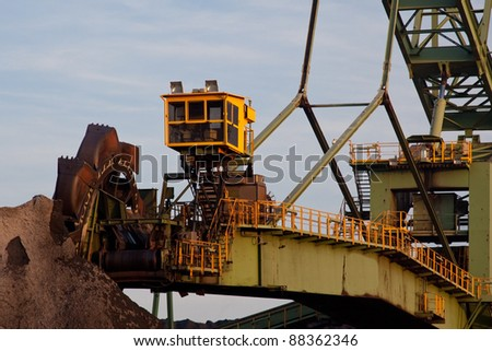 Bucket Excavator for Coal